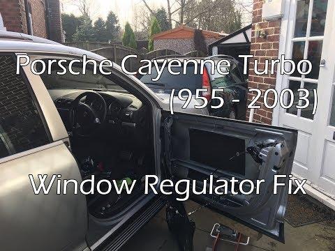 Porsche Cayenne Turbo 2003 - Window Regulator Fix