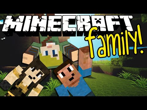 Minecraft Family #54: THE ENDERDRAGON!