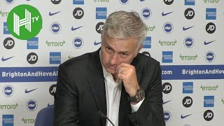 Video José Mourinho: We were punished for our shocking mistakes - Brighton 3-2 Manchester United MP3, 3GP, MP4, WEBM, AVI, FLV Agustus 2018
