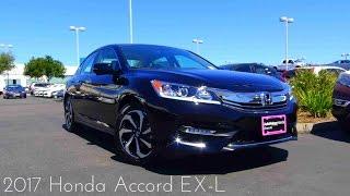 7. 2017 Honda Accord EX-L 2.4 L 4-Cylinder Review