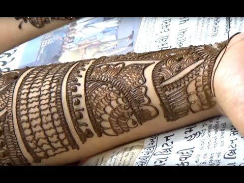 Latest Bollywood Mehendi Style 2014 ; Mehndi Artistica Design :)