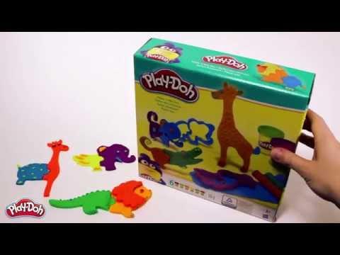 """Игровой набор Play-Doh """"Веселое сафари"""" (B1168)"""