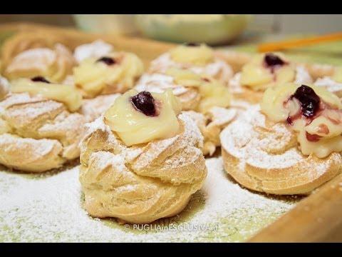 zeppole di san giuseppe - ricetta pugliese