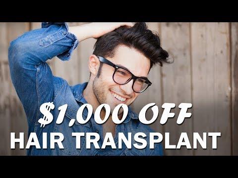 $1,000 OFF HAIR TRANSPLANT - May 2018_A plasztikai sebészet kulisszatitkai. A legmodernebb eljárások, és orvosi hibák. Szilikon völgy