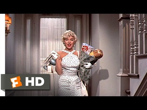 The Seven Year Itch (1/5) Movie CLIP - New Neighbor (1955) HD