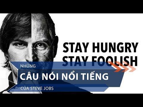 Những câu nói nổi tiếng của Steve Jobs | VTC1 - Thời lượng: 91 giây.