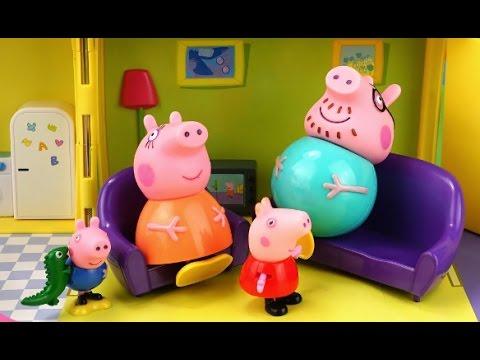 мультик про игрушки свинка пеппа