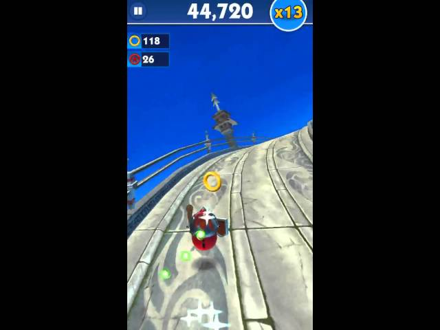 Sonic Dash - Angry Birds Crossover Event Gameplay