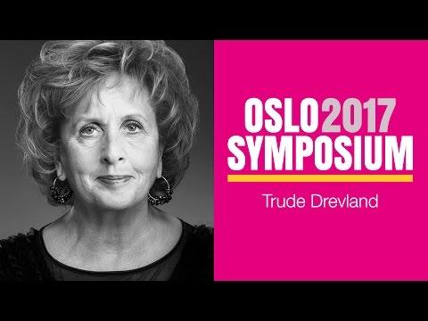 Trude Drevlands tale på Oslo Symposium 2017
