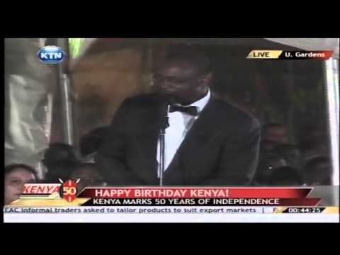 evans - Kenya at 50 Celebrations:Dr. Evans Kidero's Full Speech Watch KTN Streaming LIVE from Kenya 24/7 on http://www.ktnkenya.tv Follow us on http://www.twitter.co...
