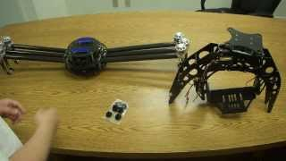 How to attach Turbo Ace Cinewing 6 Hexacopter with AV200 Gimbal