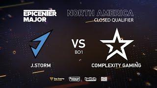 J.Storm vs CoL, EPICENTER Major 2019 NA Closed Quals , bo1 [Autodestruction]