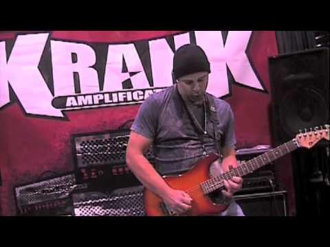 Krank NAMM 2011 Part Three - Michael Katselos (Segression, Solo Artist)