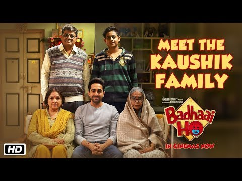 Meet The Kaushik Family | Badhaai Ho | In Cinemas 18th October 2018