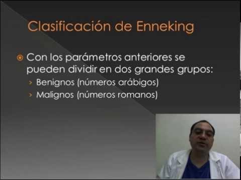 Clasificación de tumores óseos. Capitulo 6