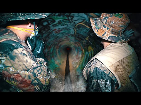 We shouldn't have made it out of the haunted tunnel... **LIVE FOOTAGE**