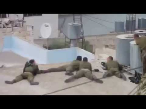**PROOF** of VERY Mentally Sick Israeli Defense Force Sniping Palestinian Kids Playing,..WTF?