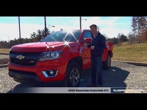 Review: 2015 Chevrolet Colorado Z71