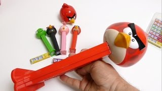 PEZ - Giant Angry Birds Dispenser - Red Bird Candy Spender