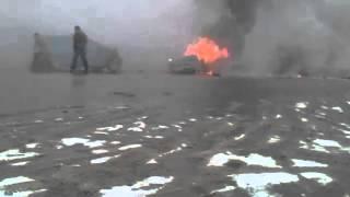 КАТАСТРОФА на шоссе! Ужасное столкновение! ЖЕСТЬ!!!