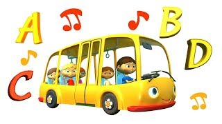 Английский алфавит - учим буквы! Песенки на английском - Английский для детей