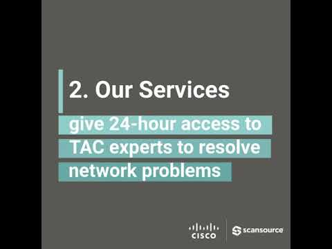Five tips for selling, implementing, and navigating...ScanSource and Cisco services.