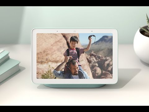 Google, Home Hub, dispositivo inteligente, pantalla, inicio