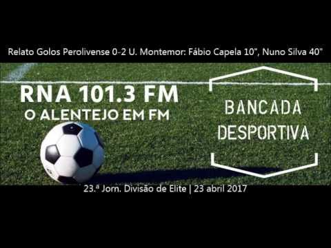 Relato dos Golos - Perolivense Vs Grupo União Sport
