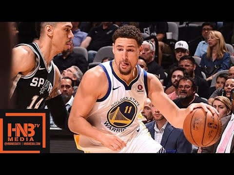 Golden State Warriors vs San Antonio Spurs Full Game Highlights / Game 4 / 2018 NBA Playoffs (видео)
