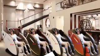Ghế massage Sumi A60 công nghệ Nhật Bản