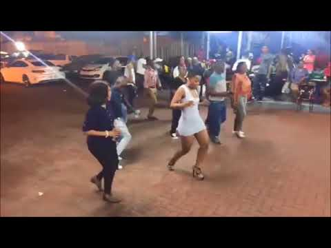 Zodwa WaBantu Having fun @ Eyadini Lounge   YouTube