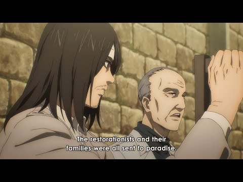 """Eren meets his Grandfather for the first time ever 