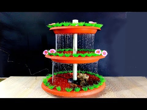 How To Make The Rain Fountain Very Easy / DIY