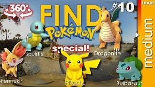 SPECIAL #1: Find 5 Pokemon + secret one (medium) - Pokemon GO ...