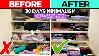 30 Day Minimalism Challenge! by Tiffyquake