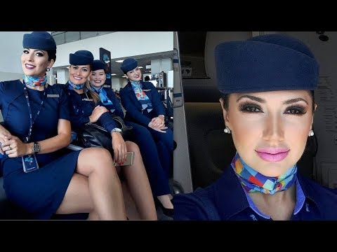 The Most Beautiful Cabin Crews İn the World
