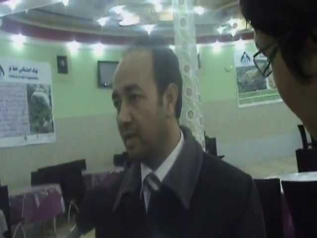 مصاحبه عبدالقادر مصباح رئیس نهاد اجتماعی خط نو با رسانه ها