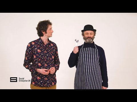 Chris Addison & Michael Sheen explain Social Enterprise