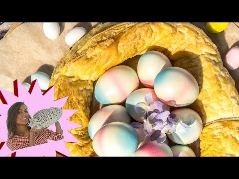 presnitz: corona di pasqua con frutta secca - la video ricetta