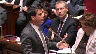 Video Manuel Valls s'emporte à l'Assemblée sur le mariage pour tous - 23/04 MP3, 3GP, MP4, WEBM, AVI, FLV Juni 2017