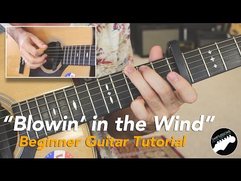 Easy Guitar Songs  - Bob Dylan