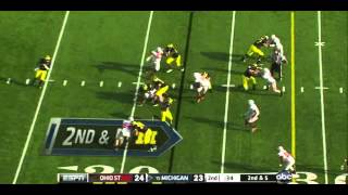 Taylor Lewan vs Ohio State (2011)