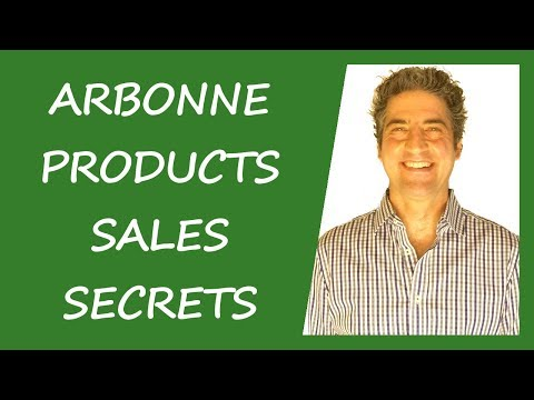 Arbonne Products Sales Secrets - How To Sell A LOT Of Arbonne Products