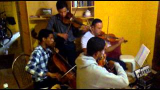 Vinde Após Mim  385  Do Hinário 5 HINO  NOVO ( Quarteto De Cordas CCB )