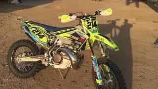 6. 2018 Husqvarna TX300 desert bike/ review