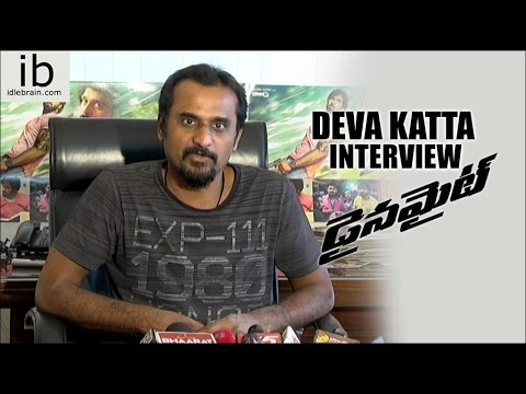 Director Deva Katta Interview about Dynamite