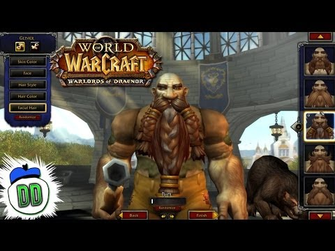 character - From the new Tauren model to female Dwarves - we check out all currently released updated models in preparation for the Warlords of Draenor live release! - T...