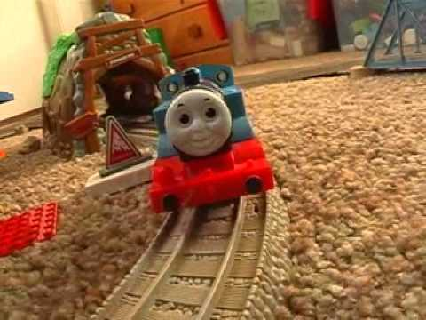 Thomas the Tank engine accidents happen with starwars clon