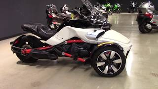 10. 2015 Can-Am Spyder F3-S - SE6 - Used 3 Wheel Motorcycle For Sale - Elyria, OH