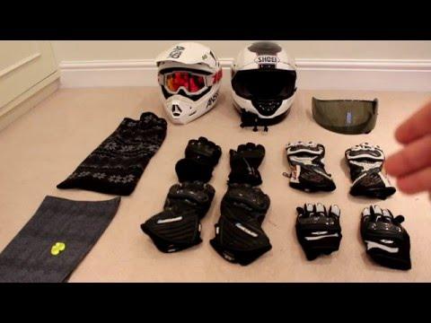Motorcycle Gear - Winter/Summer (2015)